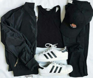 chic, girls, and outfit image