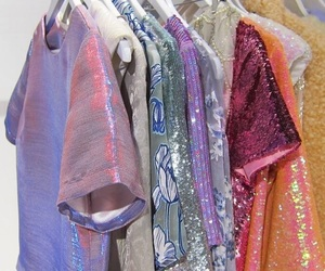 clothes, style, and sparkles image