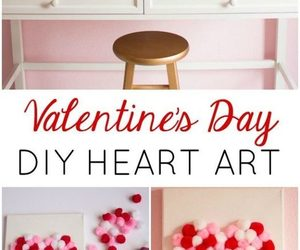 diy, home, and valentine's daydecoration image