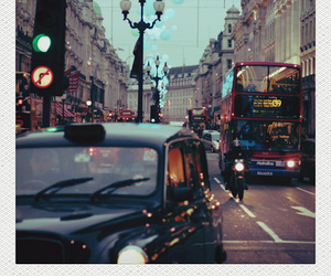 london, polaroid, and city image
