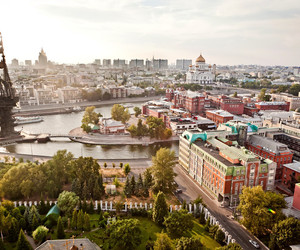 city, cityscape, and russia image