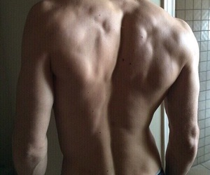 boy, sexy, and back boy image