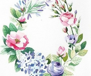 pattern, design, and floral image
