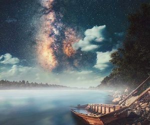 astronomy, beauty, and blue image
