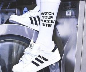 adidas, grunge, and socks image