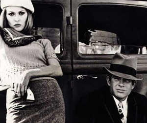 bonnie and clyde and Fay Dunaway image
