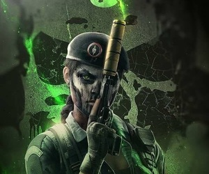 caveira, white noise, and games image