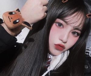 asian girl, ulzzang korea, and icons image