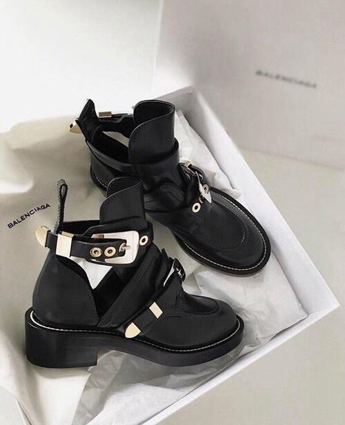 shoes, boots, and Balenciaga image