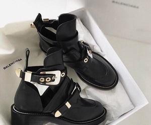 shoes, Balenciaga, and boots image