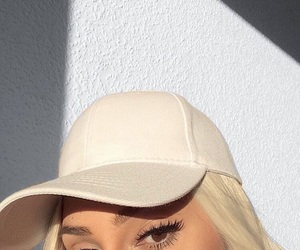 eyelashes, goals, and makeup image
