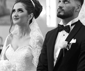 couple, frappe, and mariage image