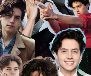 background, wallpaper, and cole sprouse image