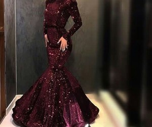 dress, look, and wedding image