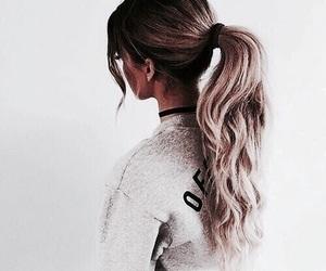 aesthetic, fashion, and ponytail image