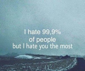 boys, hate, and i hate you image