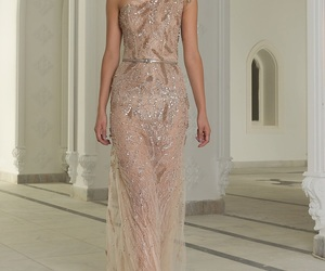 long dresses, haute couture gowns, and abed mahfouz 2018 image