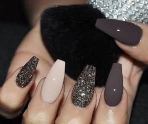 chic, girls, and nail art image