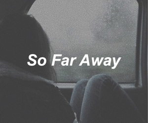 aesthetic, grunge, and so far away image