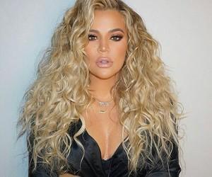 khloe kardashian, blonde, and kardashian image