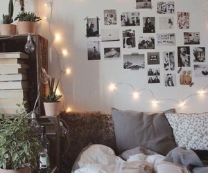 bed, bedroom, and tumblr image