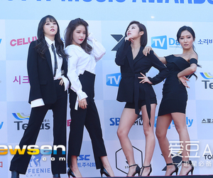 red carpet, solar, and mamamoo image