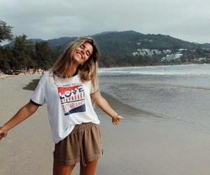 beach, pretty, and summer image