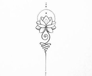 lotus flower tattoo image