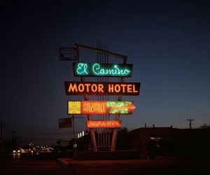 indie, motel, and photography image