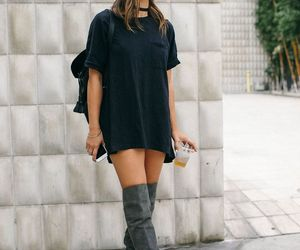 article, fashion, and grey image