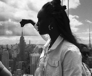 black and white, bw, and new york image