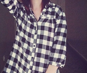 alternative, plaid, and witchcraft image