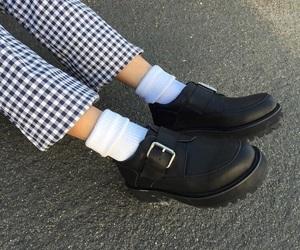 fashion, grunge, and shoes image