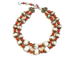 vintagejewelry, deauville, and doublestrand image