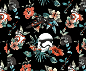 florals, vintage, and bb-8 image