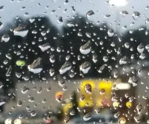 photography, rain, and rainy day image