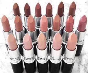 makeup, lipstick, and fashion image