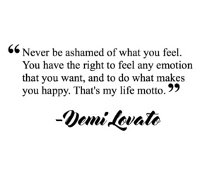 demi, divider, and quotes image