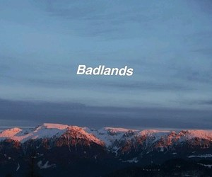 aesthetic, wild, and badlands image