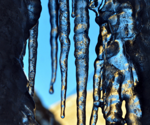 ice, icicles, and winter image