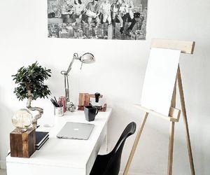 decor, setup, and desk image