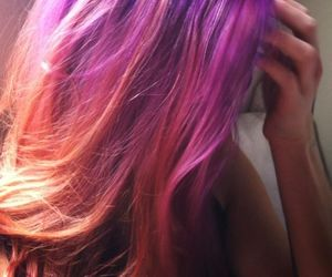 colorful, fashion, and hair image