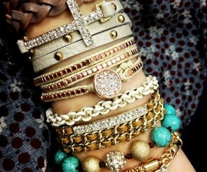 bracelet and gold image