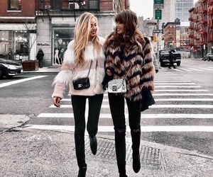 besties, chic, and street style image