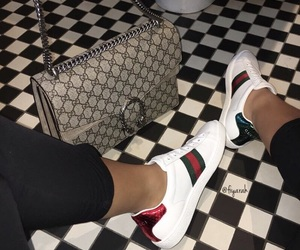 beautiful, style fashion, and gucci shoes image