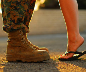 love, photography, and soldier image
