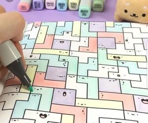 doodle, pastel colors, and cute doodles image