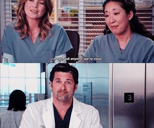 grey's anatomy, grey, and series image