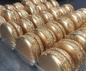 gold, food, and sweet image