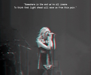 Lyrics, Taylor Momsen, and the pretty reckless image
